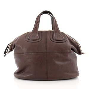 Givenchy Nightingale lambskin Satchel